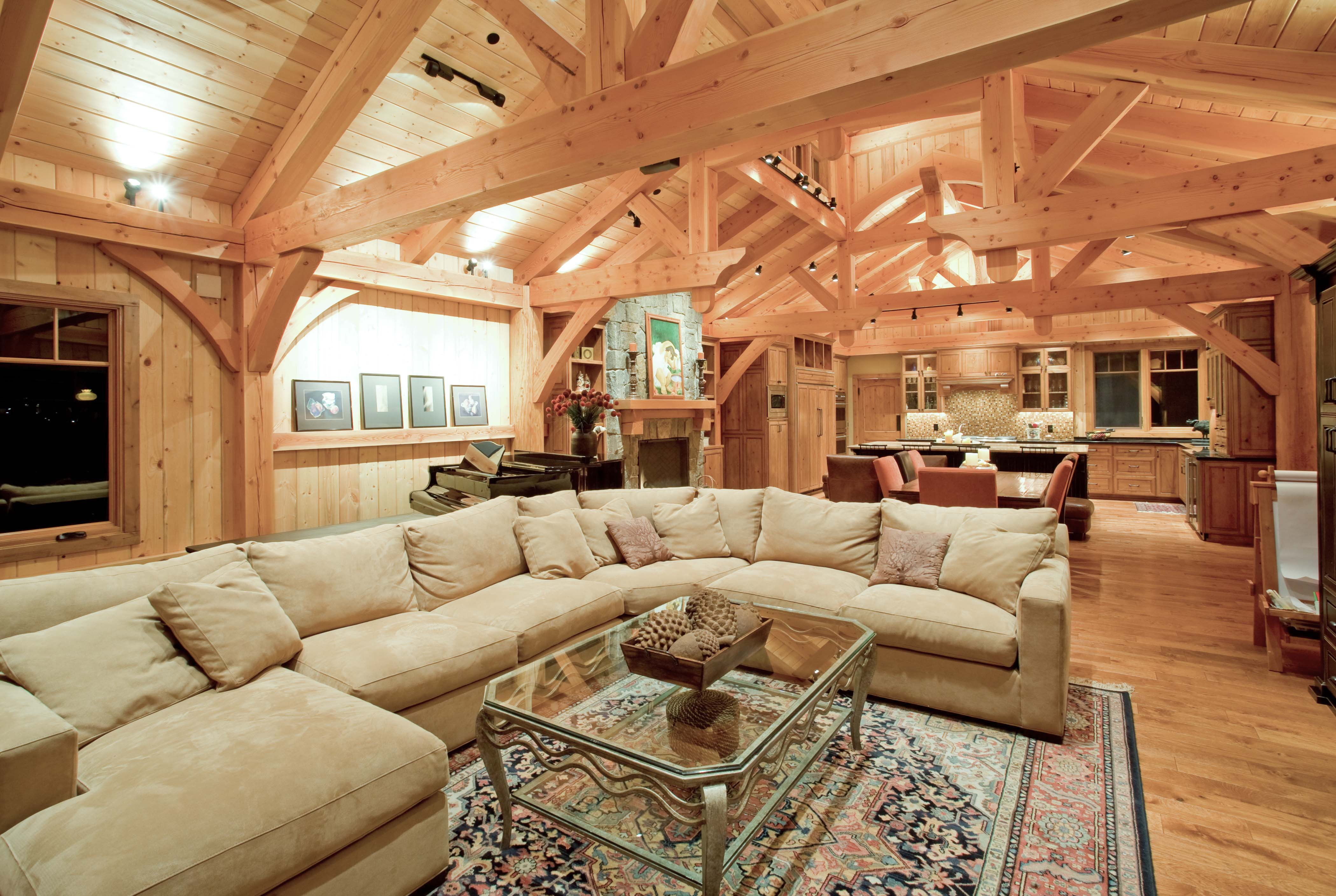 All homes british columbia timberframe company for Columbia flooring manufacturer