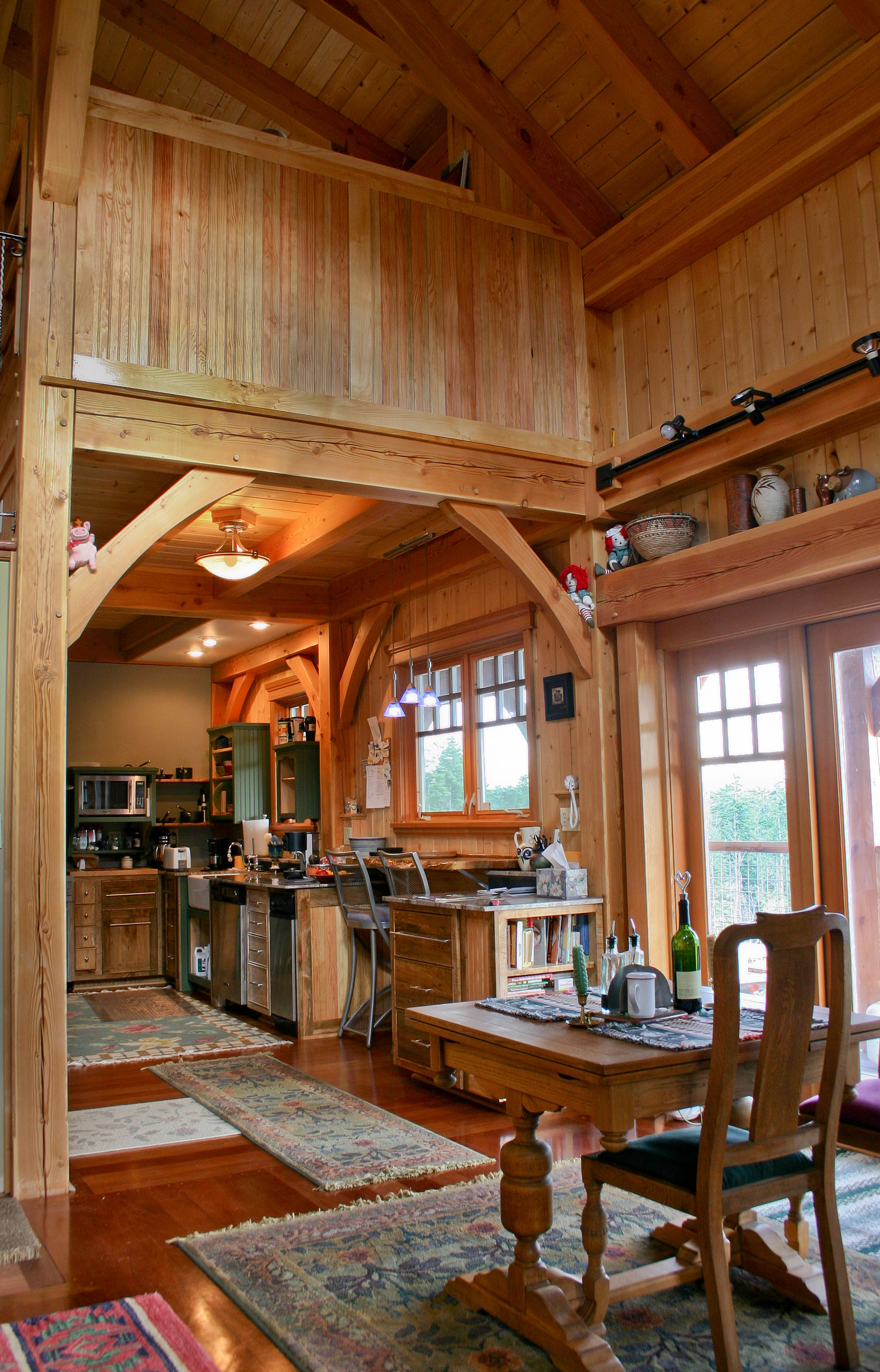 Small Homes British Columbia Timberframe Company
