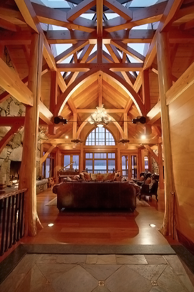 All Homes British Columbia Timberframe Company